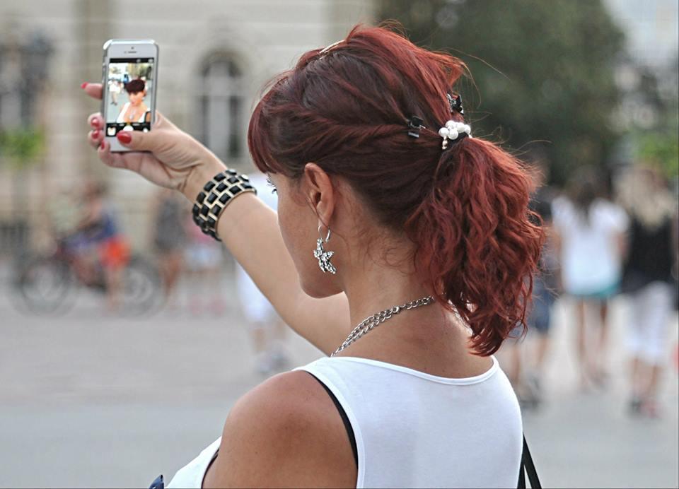 Selfie na trgu