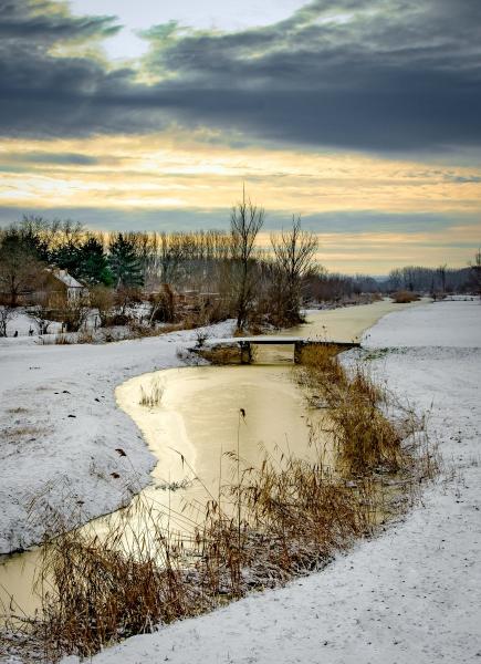 Zima u Vojvodini, jan. 2019